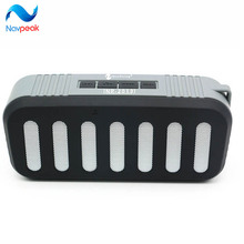 10pcs/lot Waterproof Dustproof Anti Falling Mountain Bluetooth Speakers Wireless Portable Loudspeaker Travel Speaker Handfree(China)