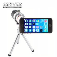 SSRIVER for Apple iPhone 5 5S 18x Optical Zoom Camera lens Cover Case 18x Zoom lens Gopro Smartphone Lens