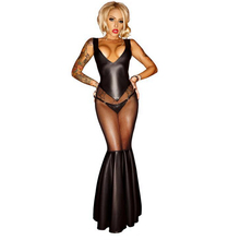 Mermaid Dress Sexy Mermaid Dress Perspective of The Dress Cosplay Clothing Halloween Cosplay Costume Adult Female Astronauts