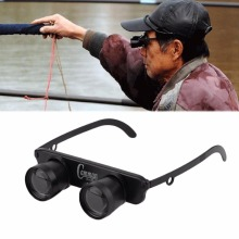 3x28 Magnifier Glasses Style Outdoor Fishing Optics Binoculars Telescope free shipping
