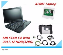 2017 Diagnose MB Star C4 Connect WIFI SD High Quality With 320G HDD V2017.12+X200T Diagnostic Tool Scanner for Mercedes(China)