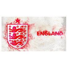 Free shipping Microfiber bath towel beach cover up towel pareo in ENGLAND natinal football team fans towel