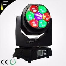 RGBW Quad Colour Lighting Zoom Moving Head Light 7x15 Focus Beam Moving Wash Light Hybrid Bee Eye Zoom For Stage Dj Disco Laser