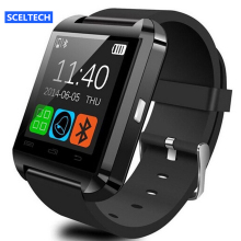 SCELTECH U8 Smart Watch Clock Sync Notifier Support Bluetooth Connectivity For Android Phone Smartwatch PK GT08 DZ09 GV18