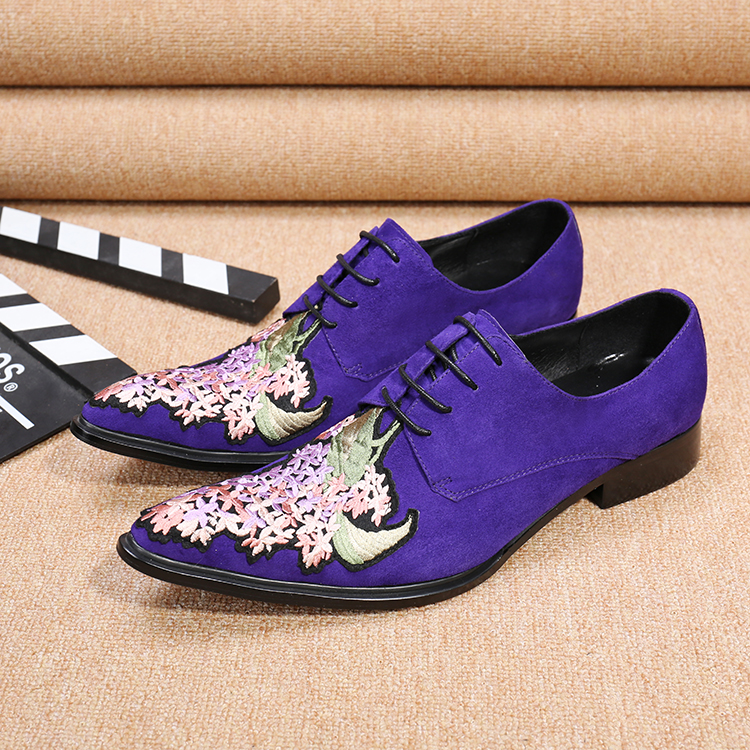 2017 New Style Hot Men Velvet Shoes Fashion Men Loafers Luxury Embroidery suede Slippers Mens Flats Dress Shoes Plus Size 7-14<br><br>Aliexpress