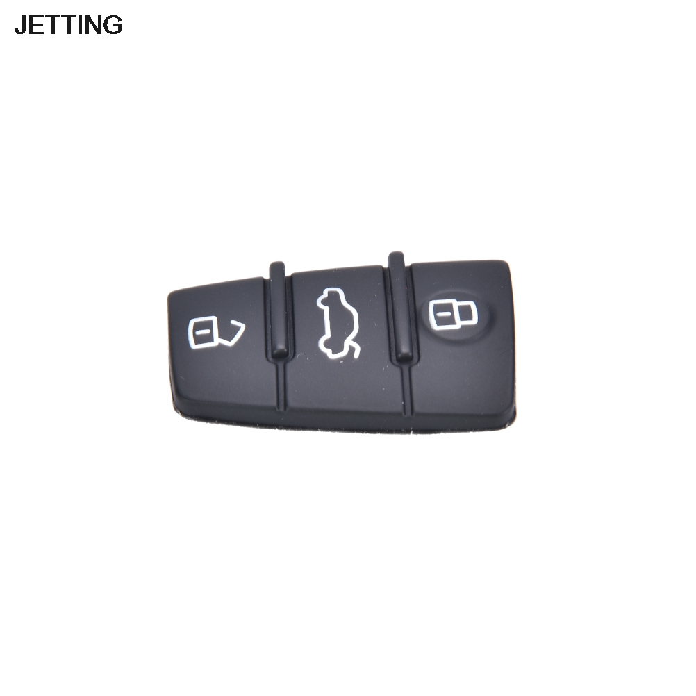 JETTING Repair 1 pcs Remote Key FOB 3 Button Rubber Pad Replacement Fits for Audi A3 A4 A6 TT Q7 Hot Selling(China (Mainland))
