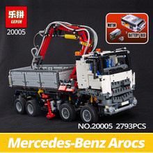 LEPIN technic series Building Bricks 20005 279Arocs truck Model kits blocks Compatible 42043 Boys toys Gift - Blocks Factory Store store