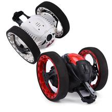 HIINST Funny 2.4GHz Wireless Remote Control Jumping RC Toy Bounce Cars Robot Toys Remote Stunt Smart Jumping Cart Gift Aug14