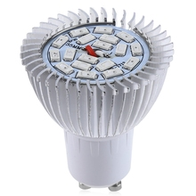 Energy Saving AC 85-265V E14 / E27 / GU10 8W SMD 5730 LED Grow Light 18 LEDs Bulb For plants growing