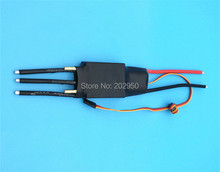 2pcs/lot 2-7S Lipo 100A ESC 5V/5A UBEC Brushless Speed Controller ESC For RC Boat UBEC100A With Water Cooler Promotion