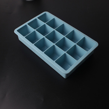 New Cool frozen ice mold silicone cube tray Creative DIY ice cream mold 15 grid lattice ice cream best bar party drink ice tray(China)