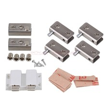 40X20MM Double Suction Glass Door Pivot Hinge Set glass door wooden door dedicated Glass Door Pivot Hinge(China)