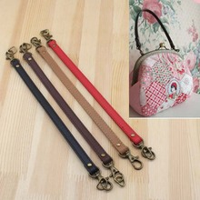 2016 PU Bag Part Coin Purse Handle Locker Pattern Rope Handle PU Leather Strap Supply Fashion Elegance PU Leather Bag Handle