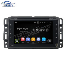 NaviTopia 7inch Quad Core Android 5.1 Car DVD Player For GMC 2016 Full touch with Radio Audio Mirror Link/Bluetooth GPS map(China)