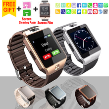 2016 new Fashion Smart Watch DZ09 Support TF/Sim Card Watch Camera SIM/TF Men Wristwatch for IOS Android Phone VS U8 GV18 GT08