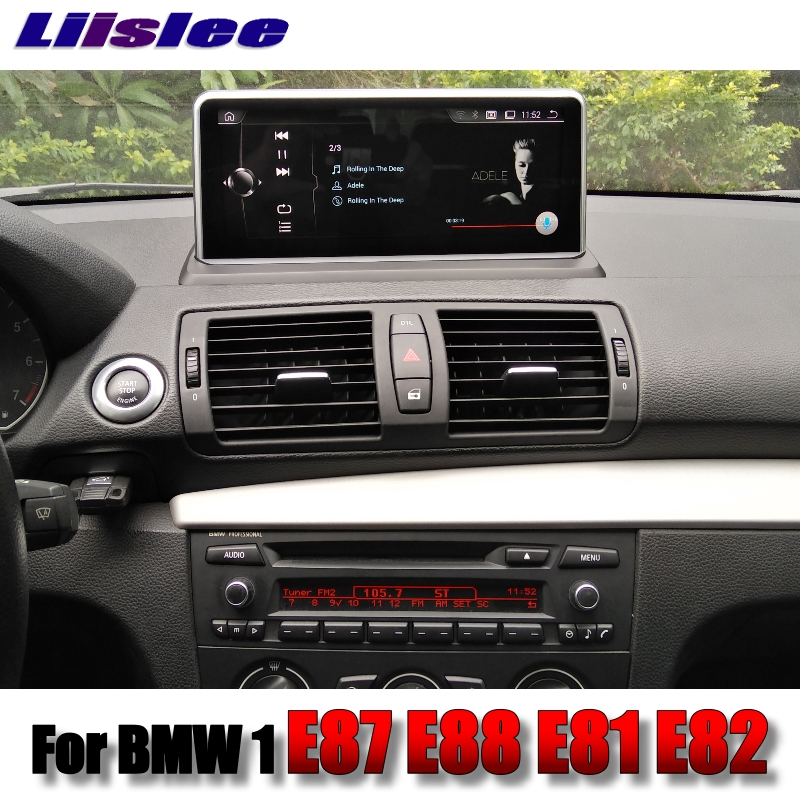 For BMW 1 E87 E88 E81 E82 2004~2013 LiisLee Car Multimedia GPS Audio Hi-Fi Radio Stereo Original Style For NBT Navigation NAVI 5