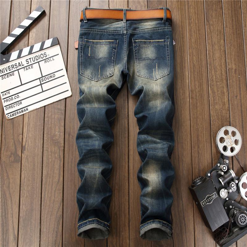 Mens ripped denim jeans02