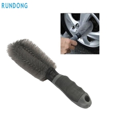 New Arrival Car Wheel Cleaning Brush Tool Tire Washing Clean Type Alloy Soft Bristle Cleaner mr10
