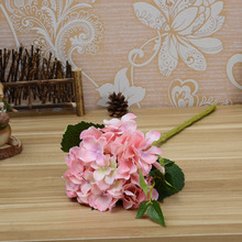 10 pcs/Set  45CM Length 15CM Diameter Artificial Hydrangea Flowers Pc For Home Decoration Wedding Hope Eternal Happy Meaning