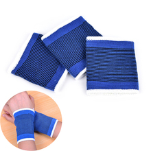 1 PC New Soft Nylon Sweat Band Sweatband Wristband Basketball Tennis Gym Yoga Sports Fits from kids to adults(China)