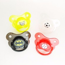 Top Silicone Funny Nipple Dummy Pacifier Baby Soother Joke Prank Toddler Pacy Orthodontic Nipples Teether Baby Pacifier Care