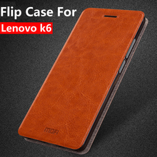 Buy Lenovo k6 case flip leather 5.0 inch mofi original lenovo k6 cover silicone inner soft housing luxury coque capas funda for $8.05 in AliExpress store