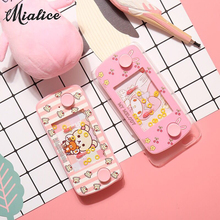 Super Cute My Melody Rilakkuma Cartoon Classic Nostalgia Ferrule Game Case Cover For Iphone X 6 7 8Plus For Samsung Back Cover(China)