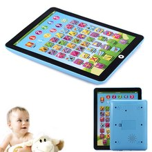 3D New Baby Early Educational Mini Computer Tablet Toy Pad Kid Children Learning English Trianing Kids Toys Plastic Intelligenc(China)