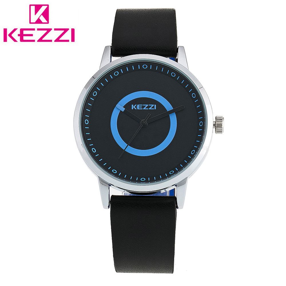 KEZZI K-1394 2017 Fashion Watch Men Leather Strap Quartz Watch Casual Sports Wristwatch Relogio Masculino Male Clock Gift KZ49<br><br>Aliexpress