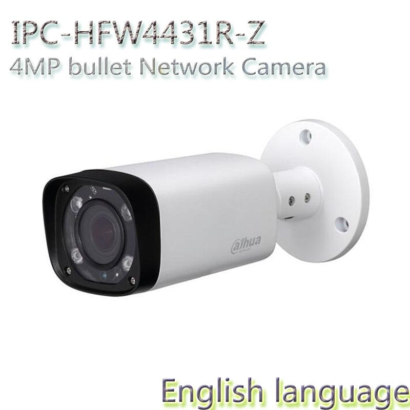 Dahua H2.65 IPC-HFW4431R-Z 2.8mm ~12mm varifocal motorized lens network camera 4MP IR 80M ip camera POE cctv camera<br><br>Aliexpress