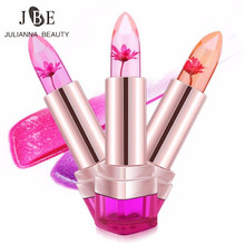 3Pcs/Lot Magic Lipstick Color Temperature Change Moisturizer Bright Waterproof Lipstick 3 Colors Long Lasting Jelly Baby Batom