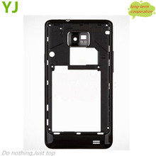 Free shipping Black/White Original New for Samsung Galaxy S2 i9100 Middle Plate Rear Housing
