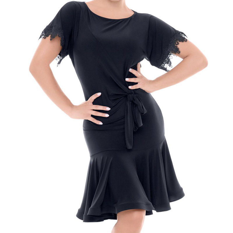 New sexy woman Latin dance dress fish bone short sleeve girls latin dresses freeshipping