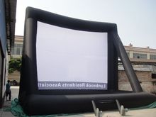 9*7m Giant Inflatable Movie Screen, Outdoor Inflatable Screen With Blower RH(China)