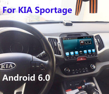 Quad Core Android 6.0 Fit KIA Sportage 2009 2010 2011 2012 2014 2015 Car DVD Player Navigation GPS Radio