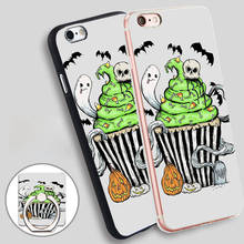 Gothic Cupcake Soft TPU Silicone Phone Case Cover for iPhone 5 SE 5S 6 6S 7 Plus
