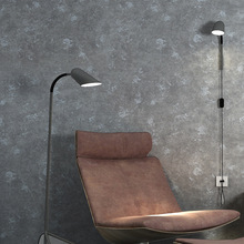 Solid cement senior gray color industrial style wallpaper home living room clothing store Club roll wallpapers papel de parede