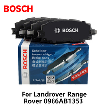 4pieces/set Bosch Car Front Brake Pads For Landrover Range Rover 0986AB1353(China)