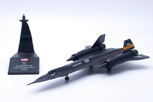 Static Alloy 1:144 NASA Aircraft Simulation Model SR71 Decoration Model(China)