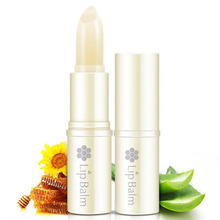 Moisturizing Pure Natural Plant Lip Balm Transparent Moisturizer Nutritious Anti Cracking Crystal Lips Care(China (Mainland))