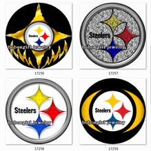 SN1114 NFL football Snap button Jewelry Charm Popper for Snap Jewelry  good quality  BOBOSGIRL