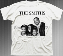 The SMITHS Will Smith family funny music rock printed cotton t-shirt 9843