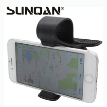 Universal Car Sun Visor Phone Mount Holder Stand For Samsung For iPhone Mobile Phone GPS PDA MP4 Camera Digital DVR 360 Rotating