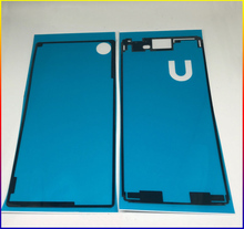 HAOYUAN.P.W New Housing Front panel Rear Back Cover Adhesive tape glue Sticker For Sony Xperia M4 Aqua