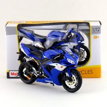 Free Shipping/Maisto Toy/Diecast Metal Motorcycle Model/1:12 Scale/YAMAHA YZF-R1 Supercross/Educational Collection/Gift For Kid