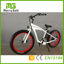 New Design 7 Speed 26*4.0 inch 48V 500Watt Fat Tire Electric Bike Electric Mountain Bicycle Merry Gold Hummer 2.0 Electric Bike