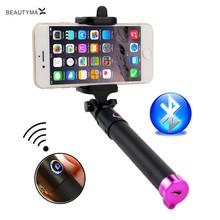Universal Bluetooth Selfie Stick Wireless Para Selfie Monopod For Iphone 5 5s 6 6s 7 Plus for Samsung S8 S7 Edge S6 S5 S4