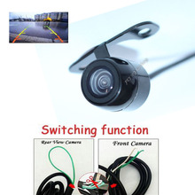 Wholesale Car rear view camera / front form camera Switching function Parking system assistance Auto CCD Backup reversing camera