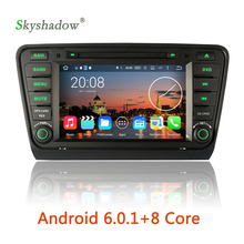 HD 1024*600 Android 6.0.1 Octa Core 2G RAM BT Wifi GPS Map canbus Car DVD Player RDS Radio For VW Skoda Octavia III 2014 2015 A7