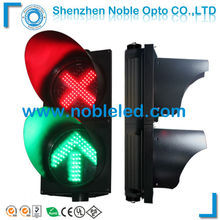 Driveway light 300mm traffic led arrow cross sign light